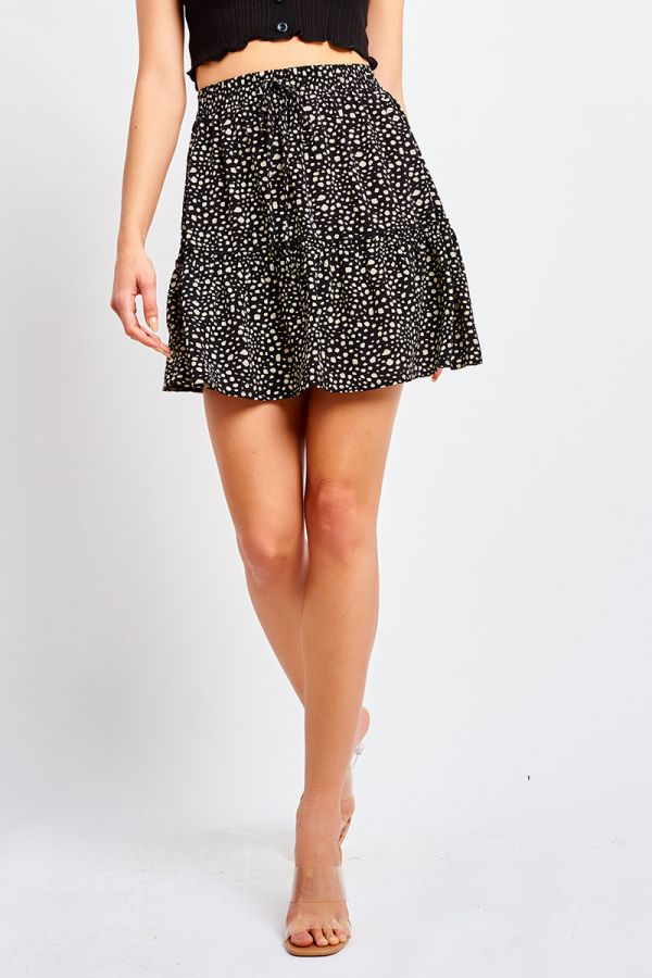 CLARISSA FLARE MINI SKIRT