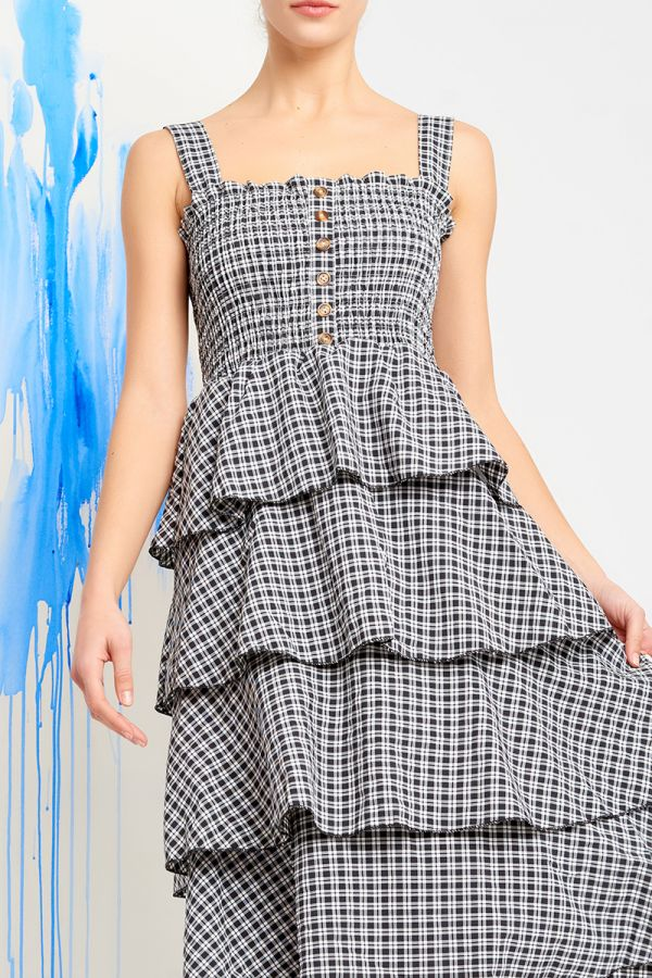 PENNY TIERED DRESS (320675)