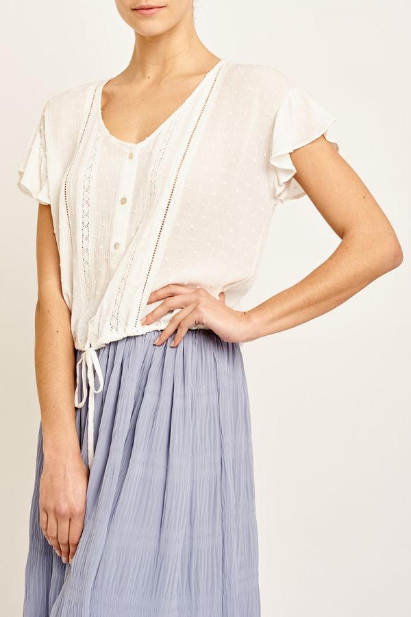 CATALINA DRAWSTRING WAIST TOP