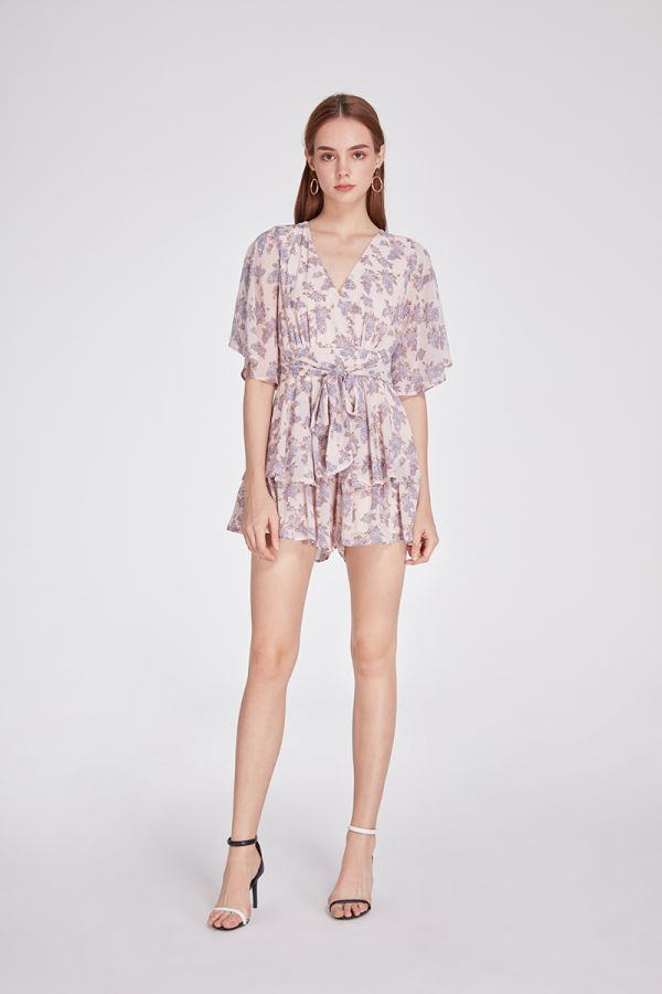 WISTERIA WHIMSY PLAYSUIT