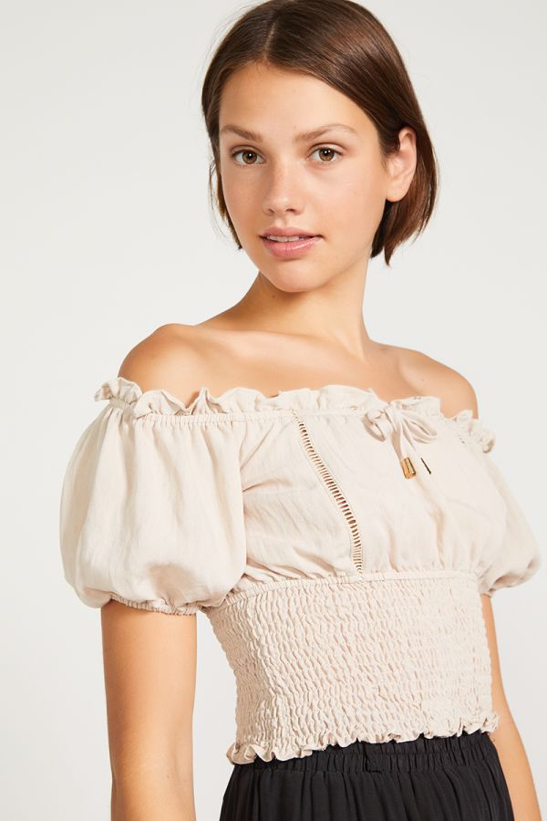 JOAN OFF SHOULDER TOP