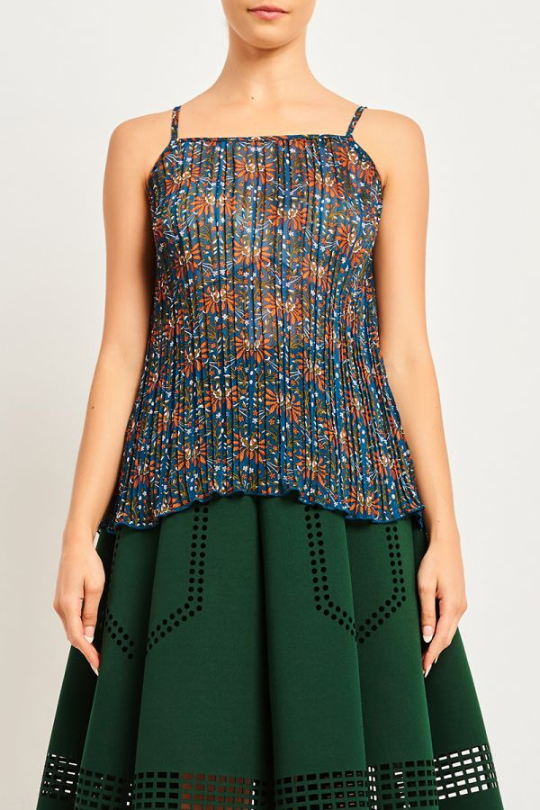 VALERIE PLEATED TOP