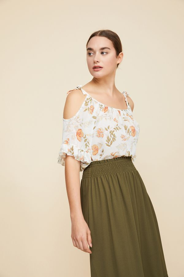 RONA COLD SHOULDER TOP