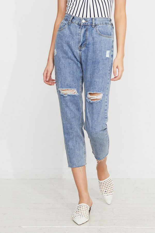 ISADORA RELAXED FIT JEANS (322418)