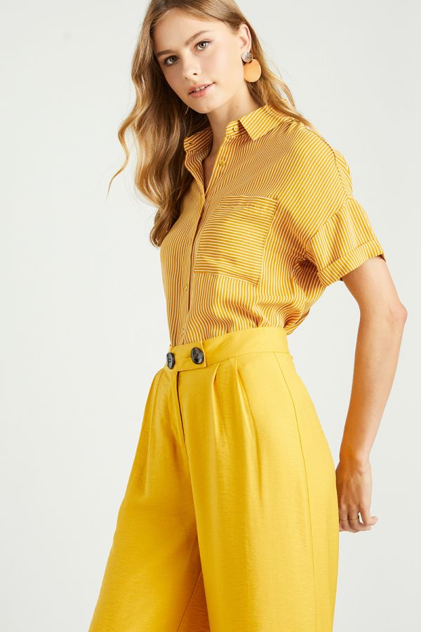 TRISH BOTTON UP SHIRT (322722)