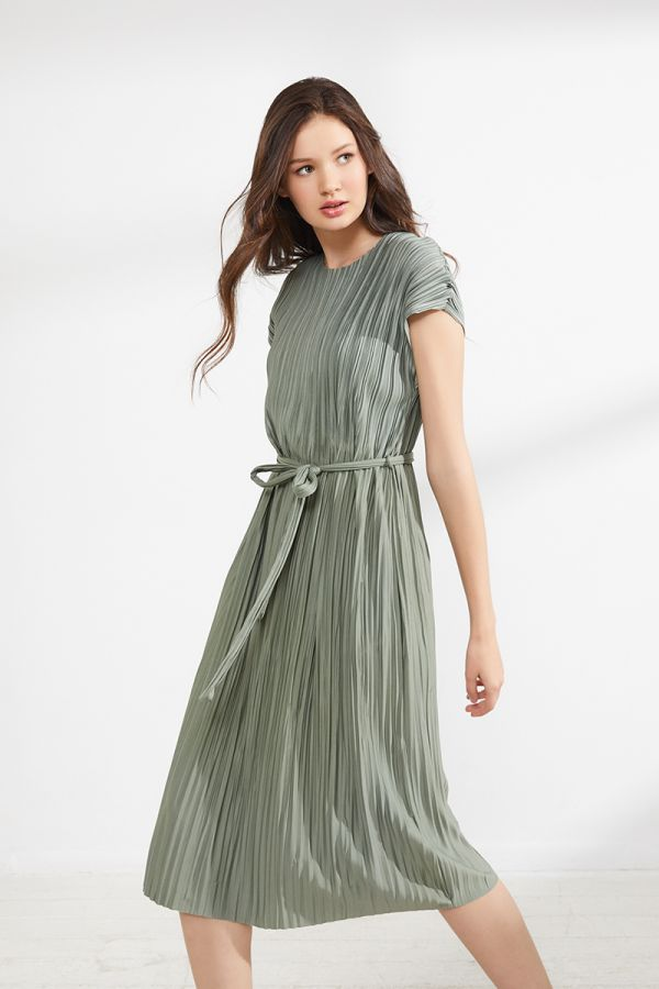 GEMMA TIE FRONT DRESS (322878)