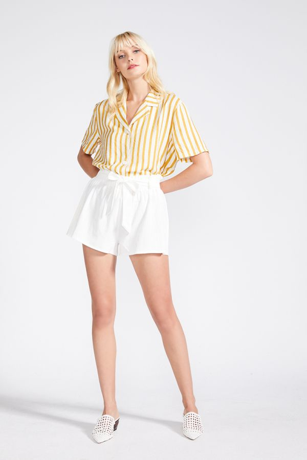 SALLY TIE WAIST SHORTS