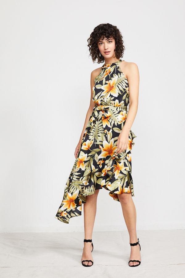 SALLY FLORAL DRESS
