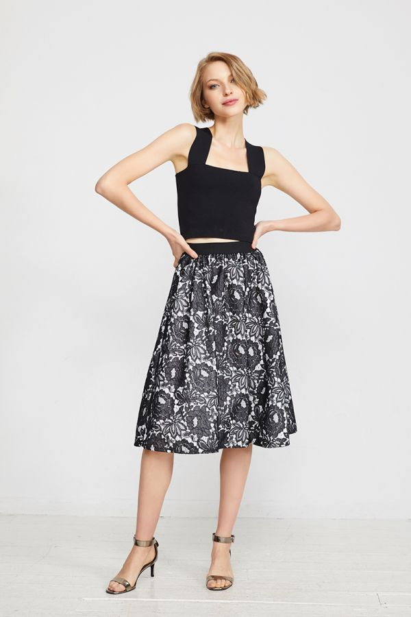 SPENCER MIDI SKIRT