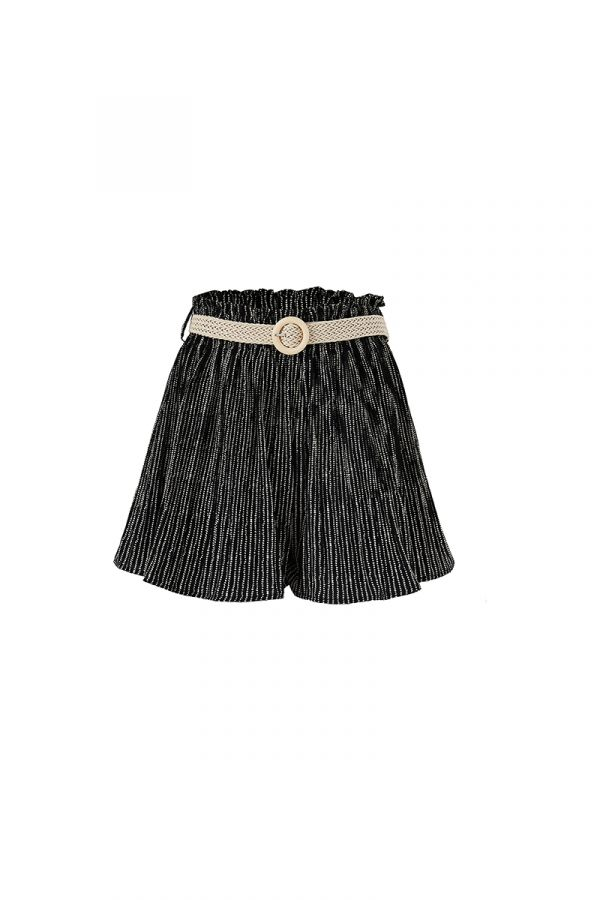 HOLA HIGH WAIST SHORTS WITH BELT