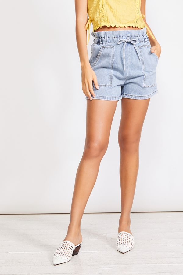 LOLA DENIM SHORT (323282)