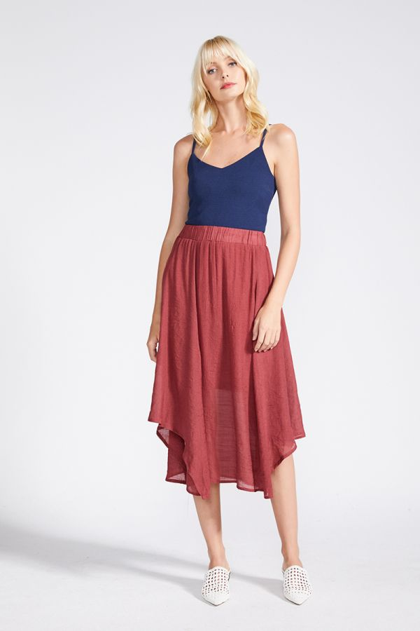 ROMINA ASYMETRICAL SKIRT