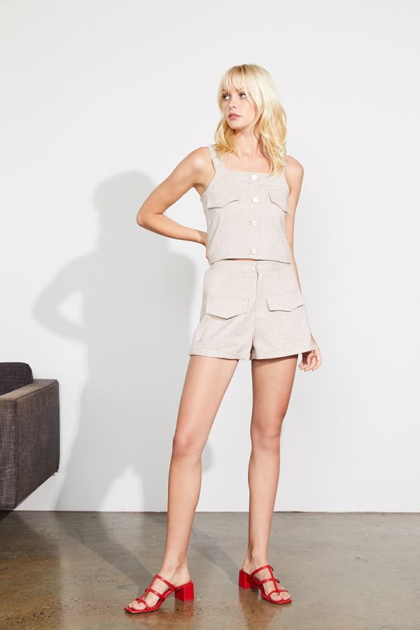 KAREN FRONT POKETS SHORTS