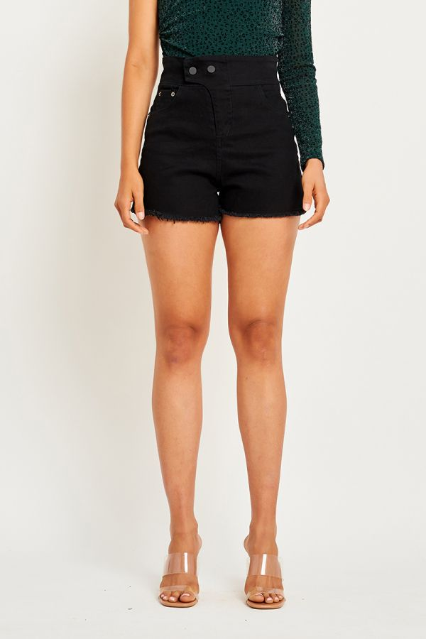 LIA DENIM SHORTS
