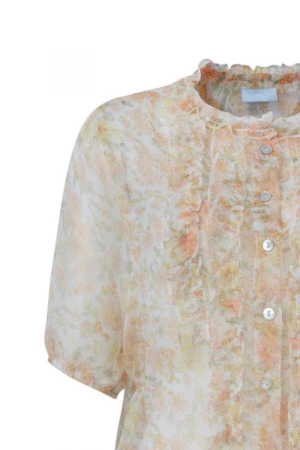 SHARON SHEER BLOUSE