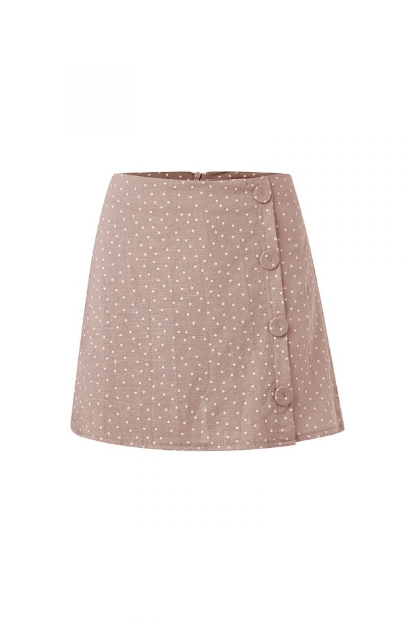 ANITA BUTTON DETAIL SKORT (323577)