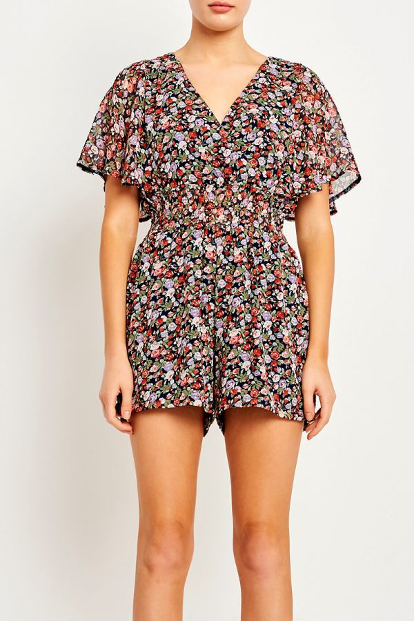 AIDA WING SLEEVE PLAYSUIT (323990)