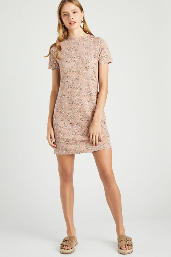 patterned tunic dress (323995)