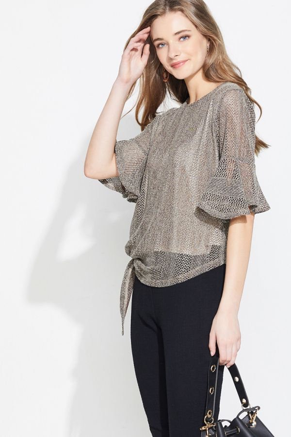 JESICA SIDE TIE TOP (324136)