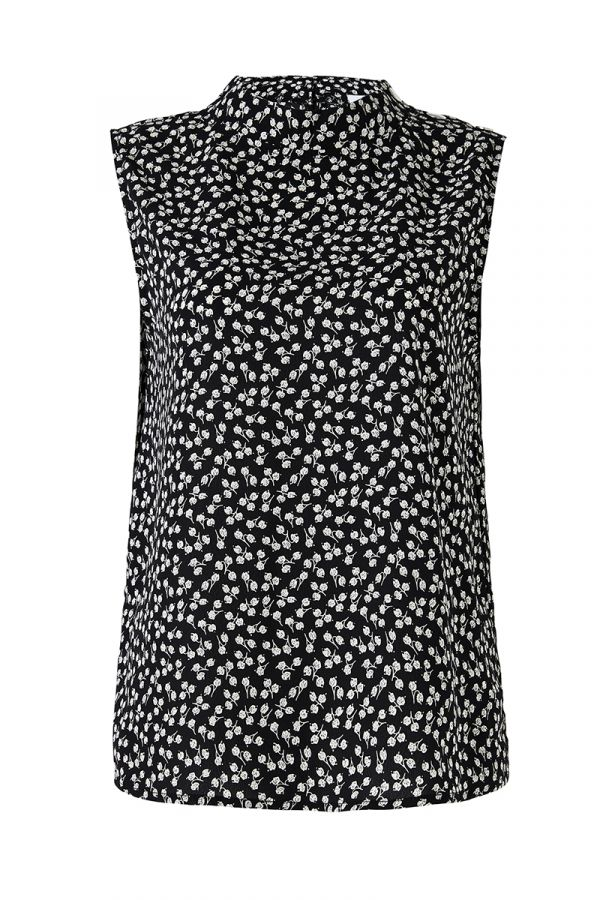 CAMILLA HIGH NECK SLEEVELESS TOP (324143)