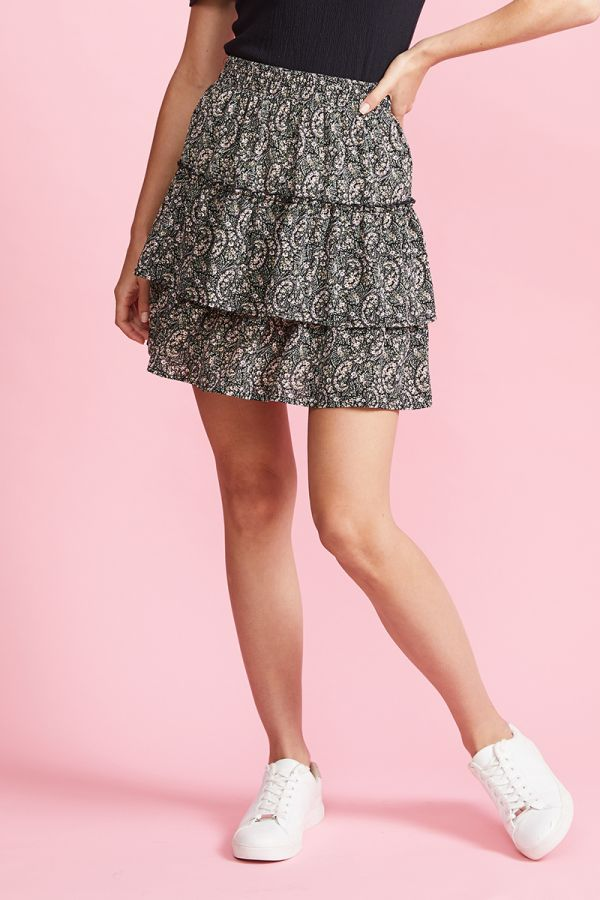 LUCY TIERED SKIRT (324235)
