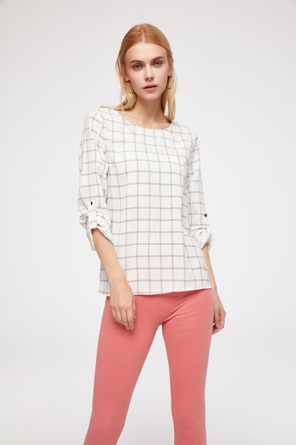 DEBORAH LONG SLEEVE BLOUSE (324309)