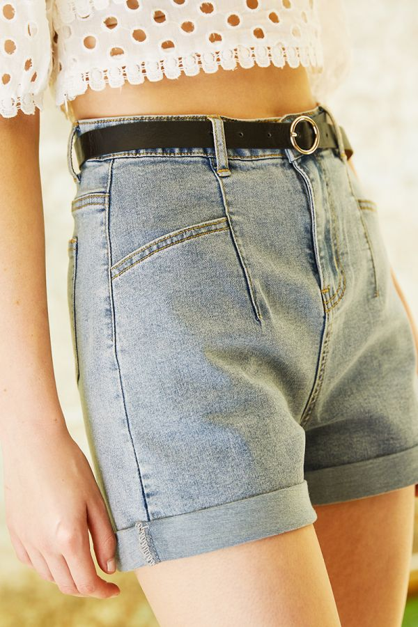 DIANA DENIM SHORTS (324382)