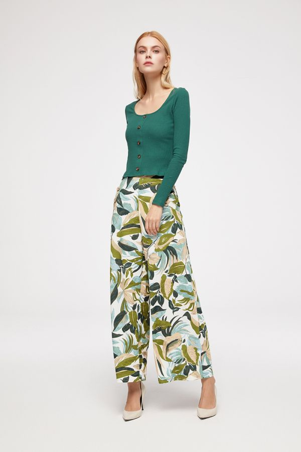 BRIELLA WIDE LEG PANTS (324432)