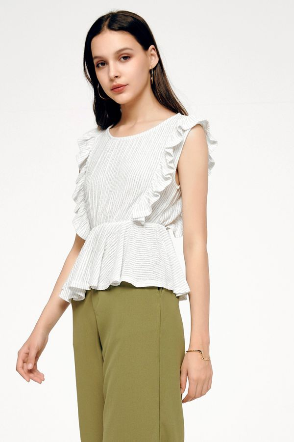 FRANCESCA SLEEVELESS BLOUSE (324454)