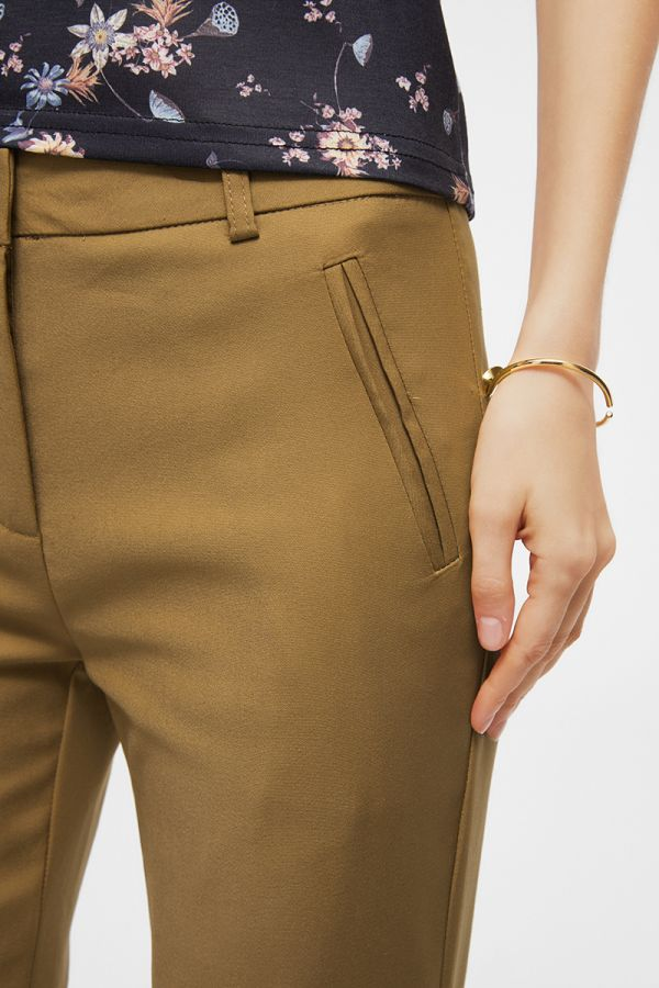 slim cropped pants  (324510)
