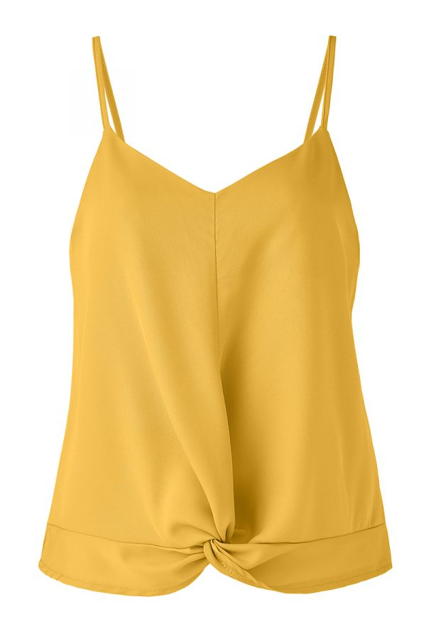 AVA TWIST FRONT CAMI TOP (324621)
