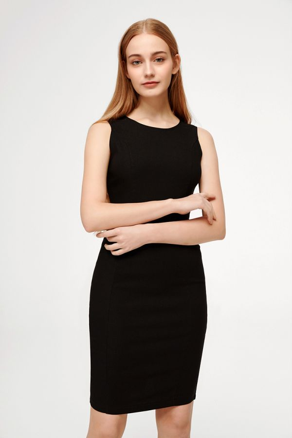 STELLA SLEEVELESS BODYCON DRESS (324662)