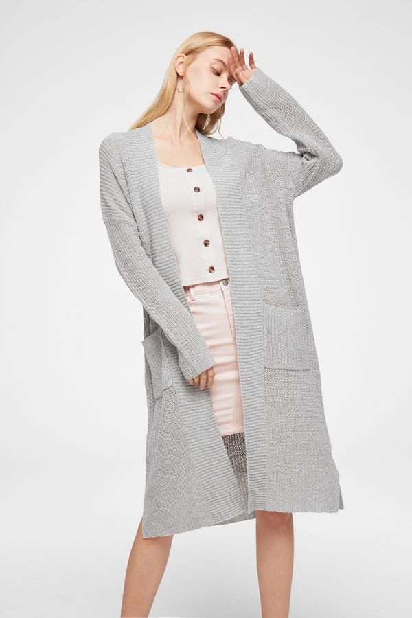EMILIA LONG KNITTED CARDIGAN (324871)