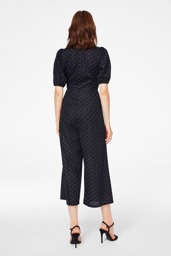volume sleeve jumpsuit  (325959)